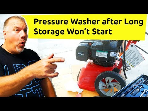 Pressure Washer Won't Stay Running / Pressure Washer Starts But Suddenly Stops / Briggs & Stratton