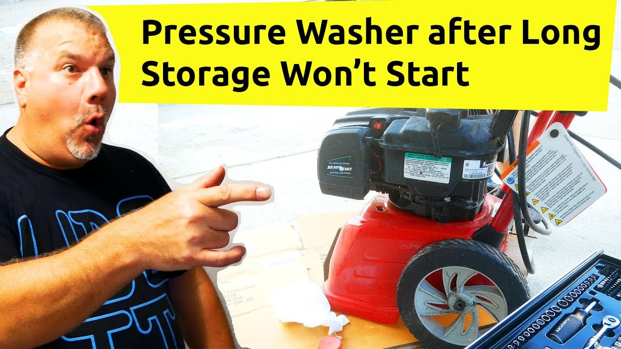 Pressure Washer Won T Stay Running Pressure Washer Starts But Suddenly Stops Briggs Stratton Youtube