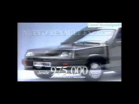"""""""Renault Express"""" Anuncios antiguos de tv (España) años 80 y 90"""