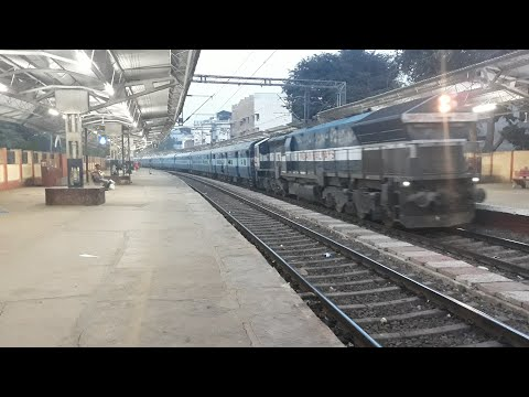 Indore Express arrival and departure at Raja Ki Mandi Station