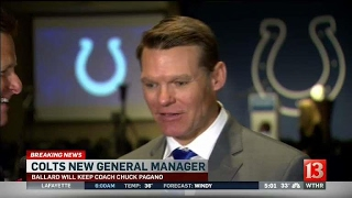 Colts new GM