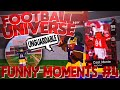 THIS 99 OVR WR IS UNGUARDABLE! | ROBLOX FOOTBALL UNIVERSE FUNNY MOMENTS #4
