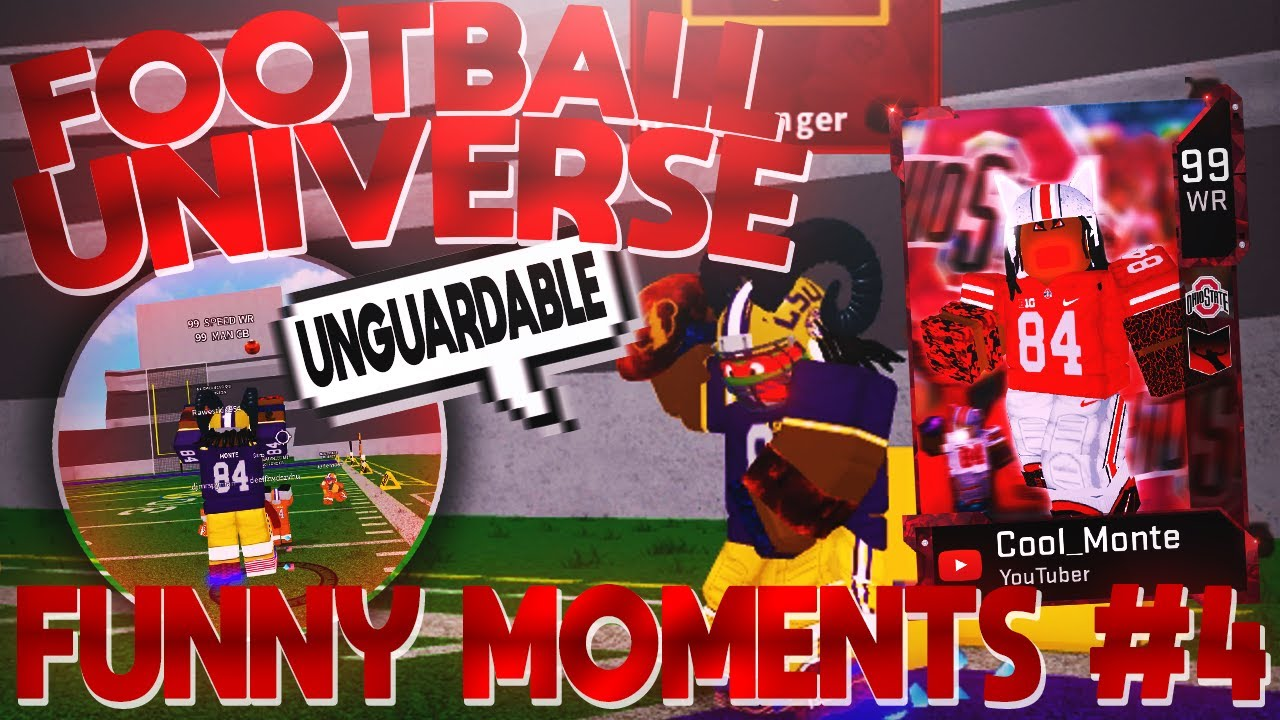 Roblox Football Universe Scripts This 99 Ovr Wr Is Unguardable Roblox Football Universe Funny Moments 4 Youtube