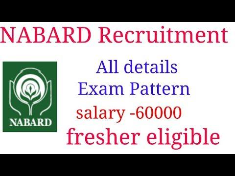 NABARD RECRUITMENT 2019 - Any graduate fresher eligible