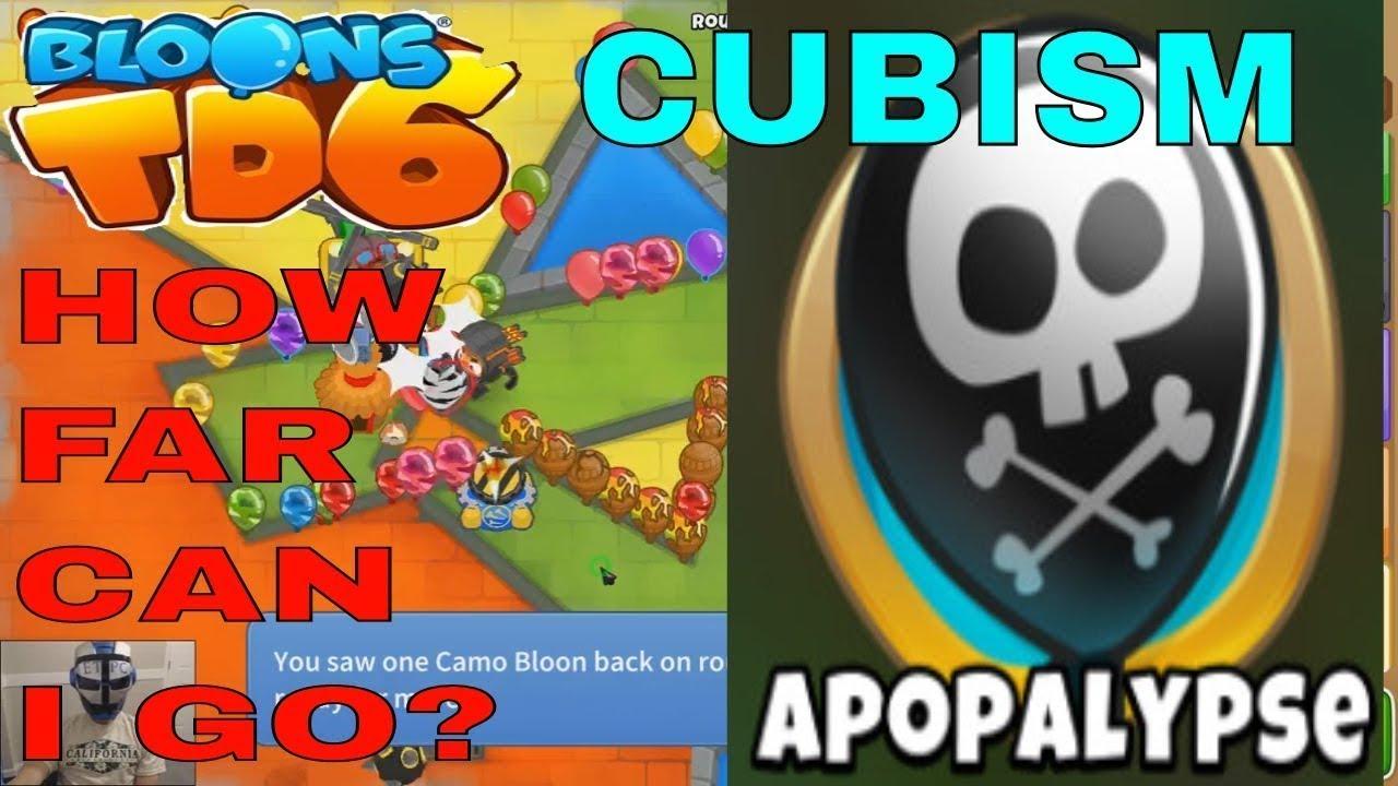 Btd6 - Cubism - Apopalypse Mode - ROUND 70