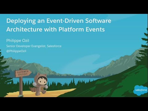 Deploying an Event-Driven Software Architecture With Platform Events (1)