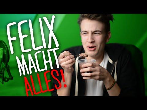 2 GIRLS 1 CUP BEIM PUDDING ESSEN | Felix Macht Alles! | Rotpilz