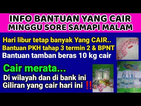 INFO PKH HARI INI_ MANTAP CAIR LAGI ‼️ BANTUAN PKH u0026 BPNT BANYAK YANG CAIR | BERKAH KPM HARI MINGGU