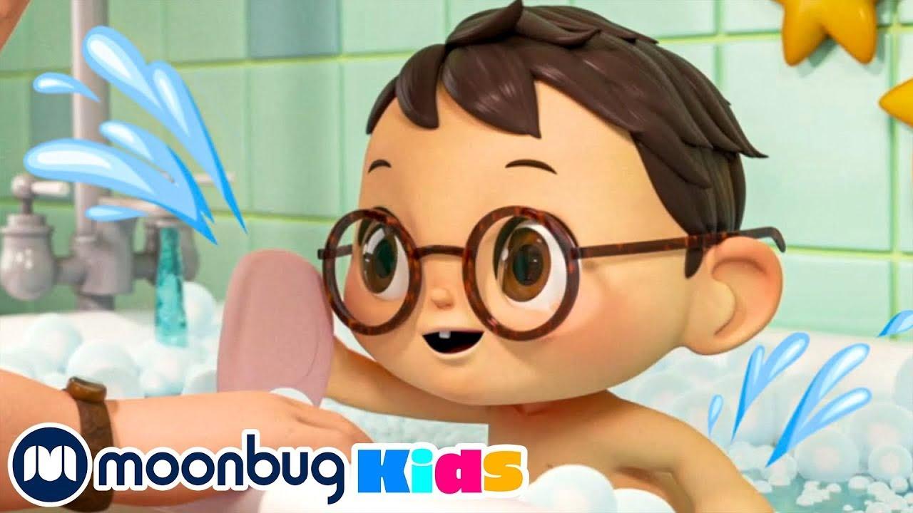Das Bade Lied | Kinderlieder und Cartoons | Little Baby Bum | Moonbug Kids Deutsch