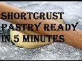 How To Make Shortcrust Pastry In A Food Processor
