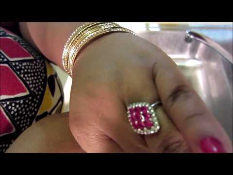 How to clean your gemstone rings with laundry detergent ( ring cleaning hacks)