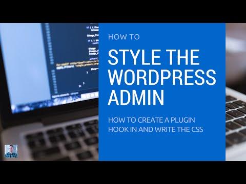 How to Create a Custom WordPress Admin and Login Theme