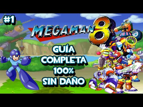PSX Megaman 8 Guía Completa 100% Parte 1 de 2 - Enfrentando Nuevos Peligros (Sin Daño)