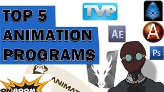 Top 5 Animation Programs