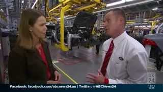Jaguar Land Rover Story - ABC NEWS  281015