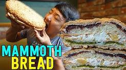 MAMMOTH BREAD! Korean Bakery Tour of Seoul South Korea