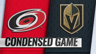 11/03/18 Condensed Game: Hurricanes @ Golden Knights
