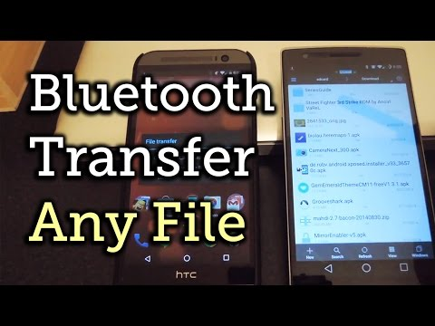 How to Bypass Android's File Type Restrictions on Bluetooth File