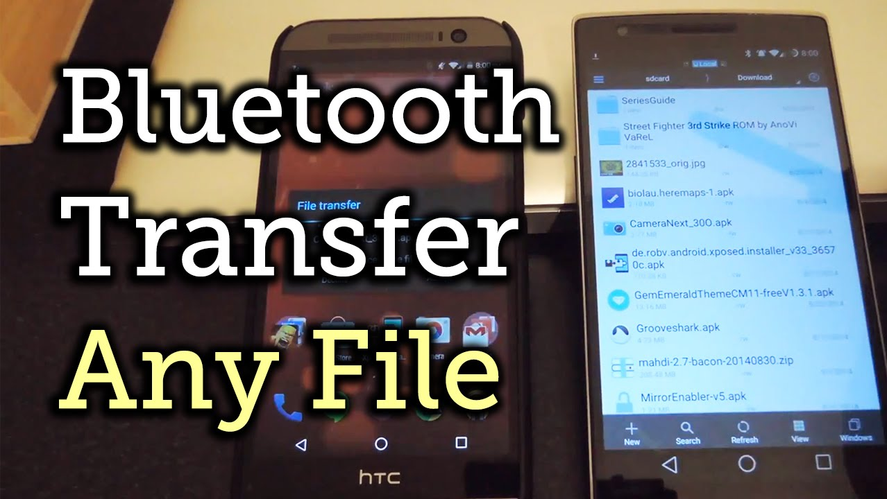 Send & Receive ANY Type of File Over Bluetooth - Android [How-To]