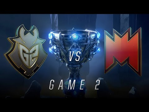 G2 vs INF | Game 2 | Worlds Play-In Knockouts | G2 Esports vs Infinity Esports (2018)