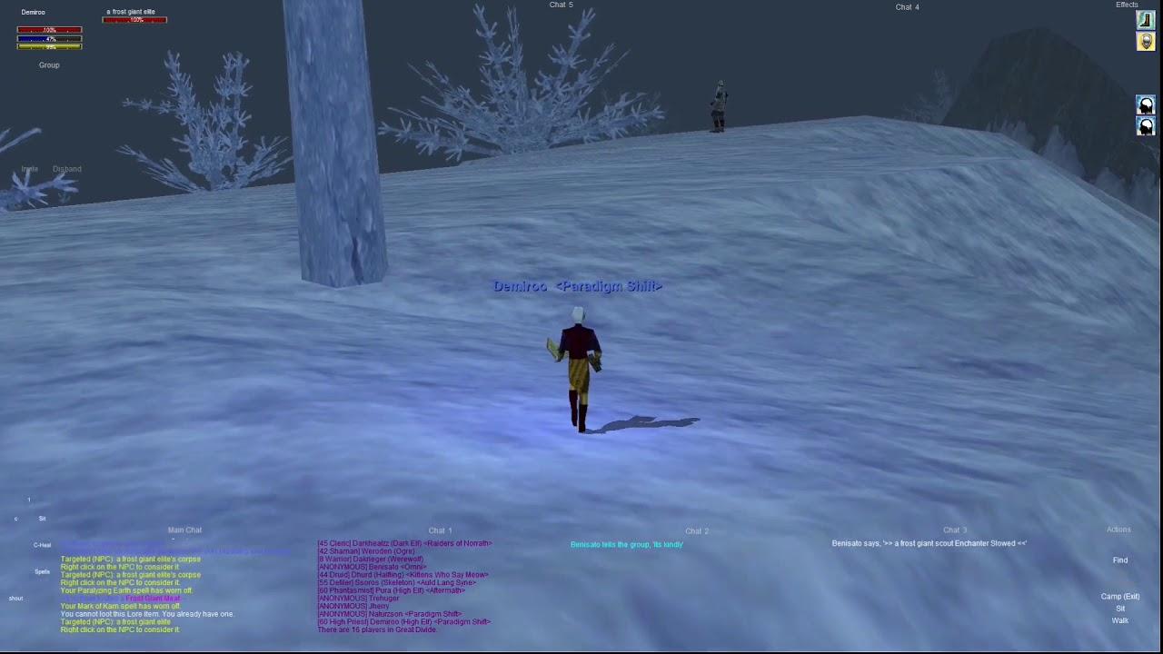 P99 dark elf quests