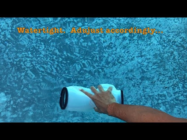 Outex Waterproof Camera Case Underwater Test