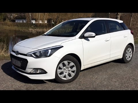 Hyundai i20, 1,25 benzin, 84 hk, Active Plus - 2015 review