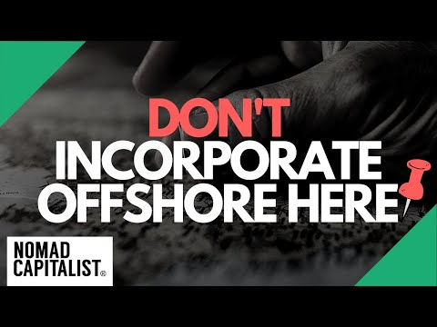 Where NOT to Incorporate Offshore
