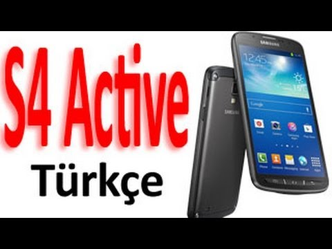 Samsung Galaxy S4 Active TÜRKÇE