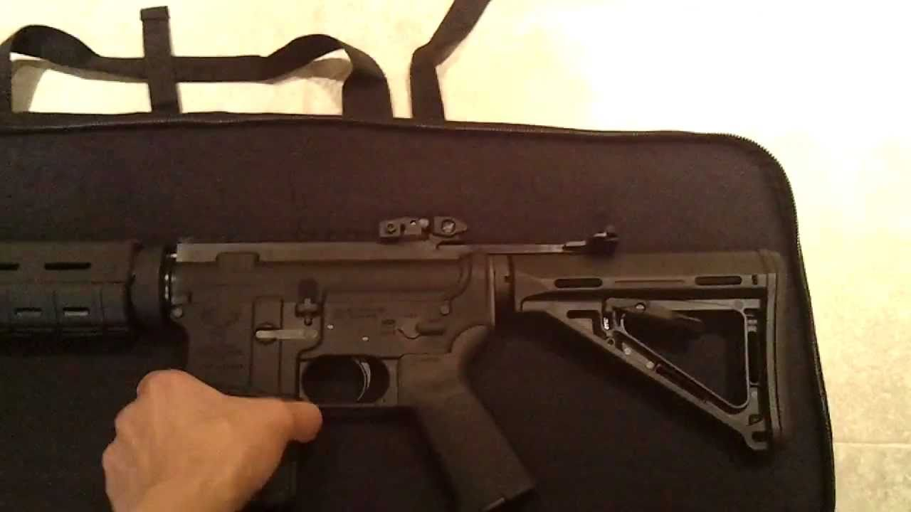 "bulldog extreme discreet assault rifle case 35"" - youtube"