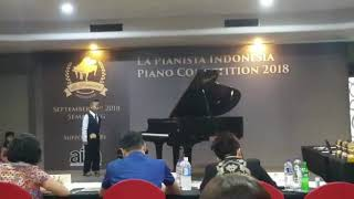 Arrabesque - La Pianista Java Piano Competition 2018 (Wisang)