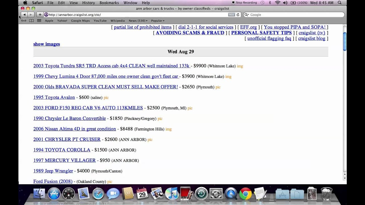 Craigslist Michigan How To Search All Of Michigan For