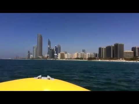 Touring Abu Dhabi's Gulf Coast by Speedboat