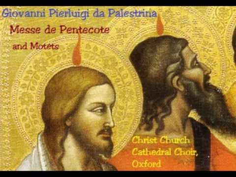 Palestrina     Messe de Pentecote
