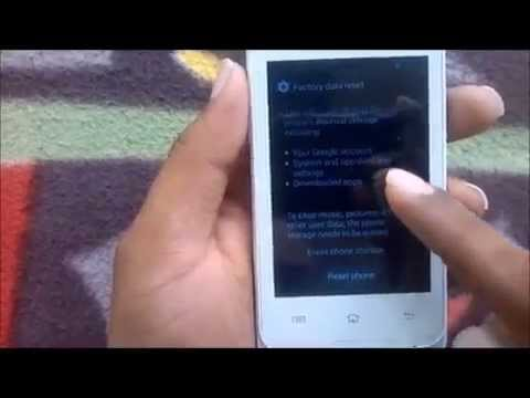 How to Hard Reset Huawei Ascend G330 and Forgot Password Recovery, Factory Reset