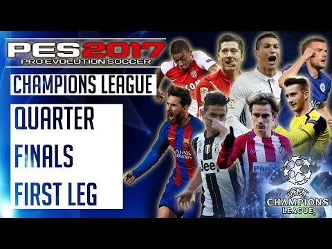 Bayern Munich vs Real Madrid : PES 2017 UEFA Champions League - Quarter Finals First Leg