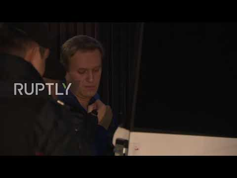 Russia: Navalny immediately detained upon release from 30-day sentence