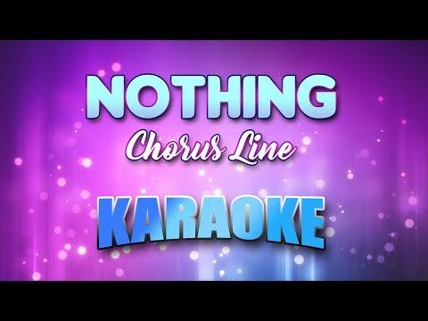 Chorus Line - Nothing (Karaoke & Lyrics)