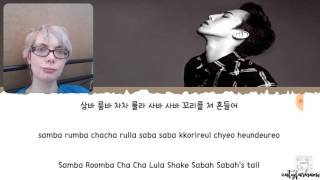 G-Dragon - Bullshit (Lyrics) REACTION