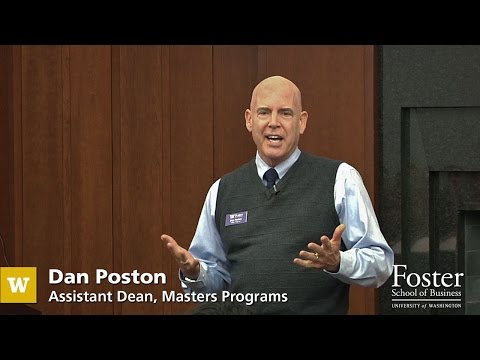UW Foster School of Business assistant dean speaks on the value of an MBA