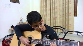 Ajeeb Dastan Hai Yeh on Guitar, Tabs by Vaibhav Tiwari