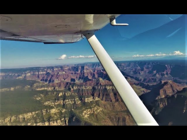 Grand Canyon by aircraft | Awesome aerial view! | 2k19