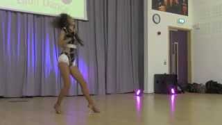 Selene Tovar Premiere Solo Performance at Caramelo Latin Dance 11 2014