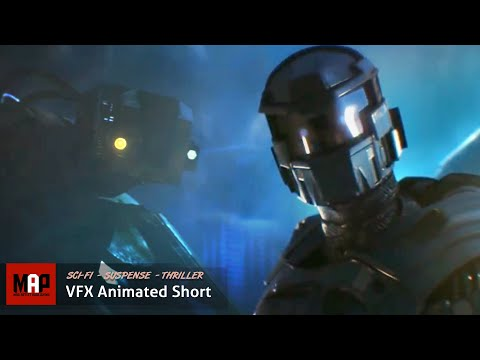 "Sci-Fi CGI 3D Animated Short ""AZARKANT"". Incredible Halo Styled VFX Animation By Andrey Klimov"