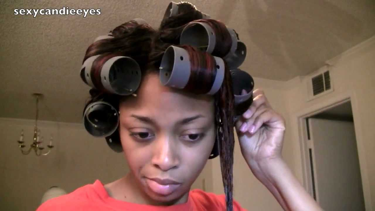 how to clean hair rollers