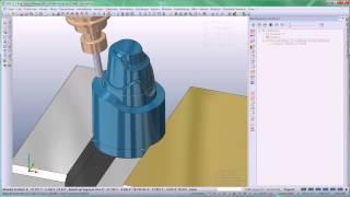 VISI Machining - Produktvideo ''Automatische 5-Achsen Bearbeitung''