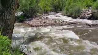 freespiritvideo.com  River running through the mountains of Boulder