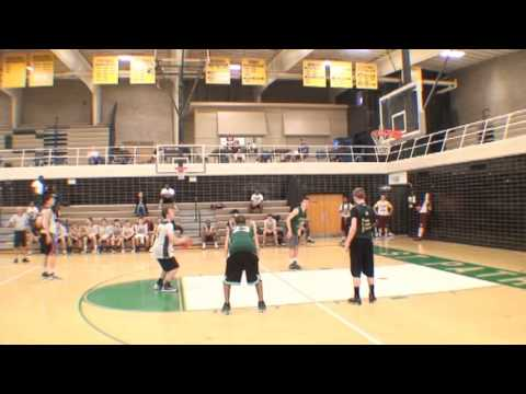 Last Second Basketball Half Court Shot by St. Pats vs GBN ...