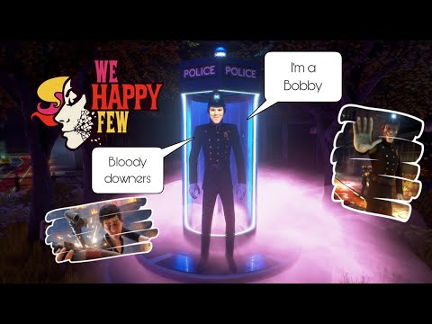 If I die the video ends [The Night Watch]-We Happy Few |