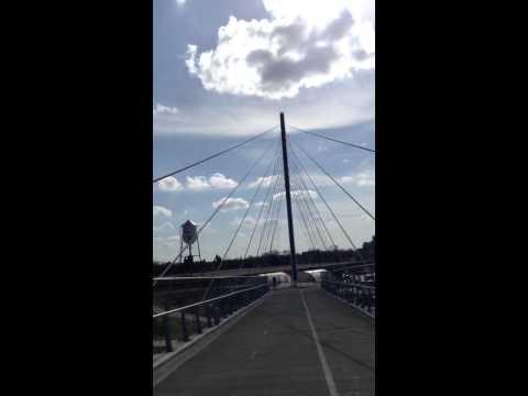 Over the Sabo Bridge